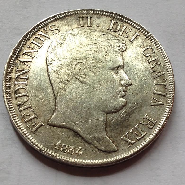 120 G Ferdinando II 1834