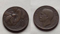 10 Centesimi ape 1919