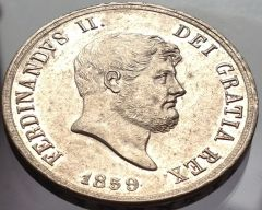120 grana Ferdinando II 1859