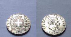 5 Lire 1869