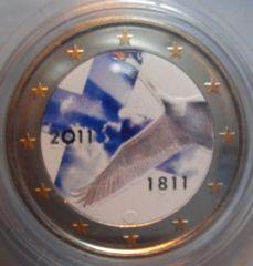2 euro cc Finlandia 2011 Colorato