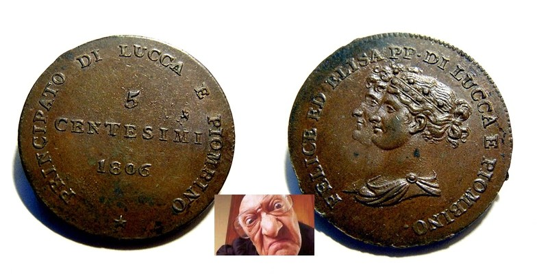 LUCCA PIOMB ELI BON 3 CENT 1806