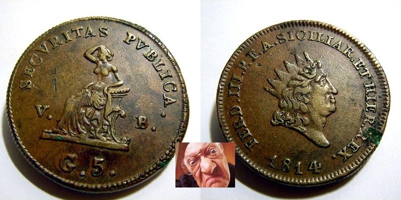FERD III 5 GRANI 1814