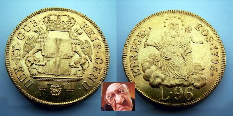 REP GENOVA 96 LIRE 1796