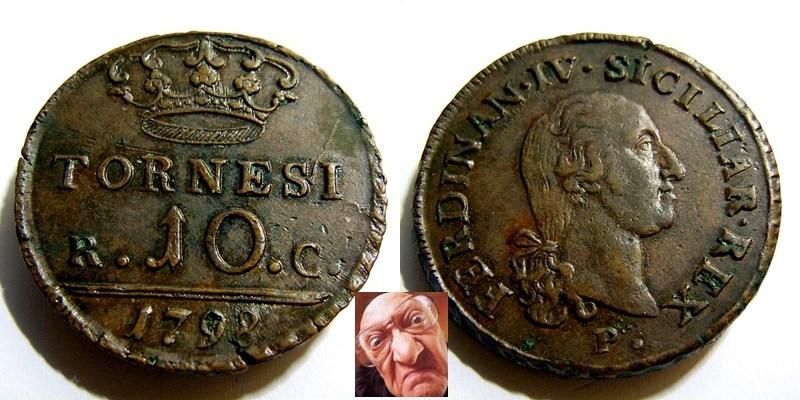 FERD IV 10 TORNESI 1798