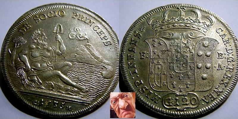 CARLO DI BORBONE 120 GRANA 1735