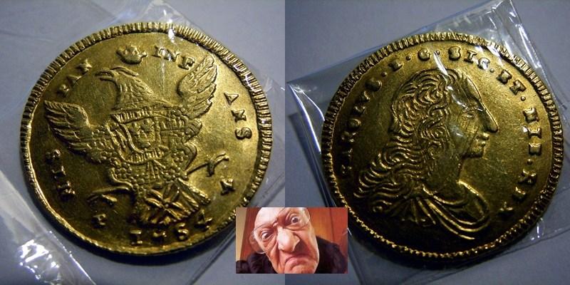 CARLO DI BORBONE DOPPIA ONCIA 1754