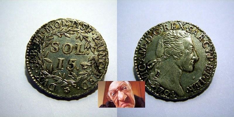 VITT AMED III 15 SOLDI 1794