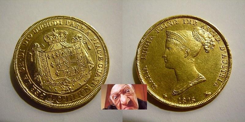 MARIA LUIGIA 40 LIRE 1815