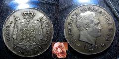 Napoleone 2 lire 1807 I tipo