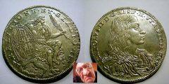 Carlo III mezzo ducato 1684