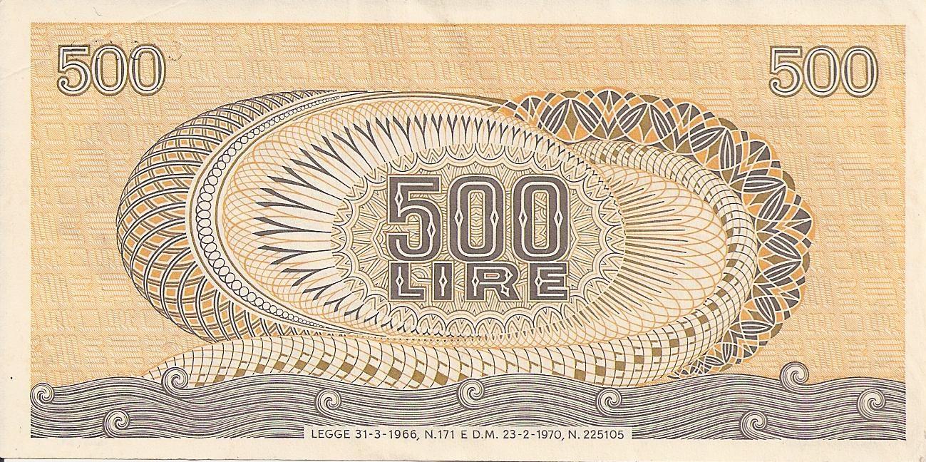 500 Lire Aretusa