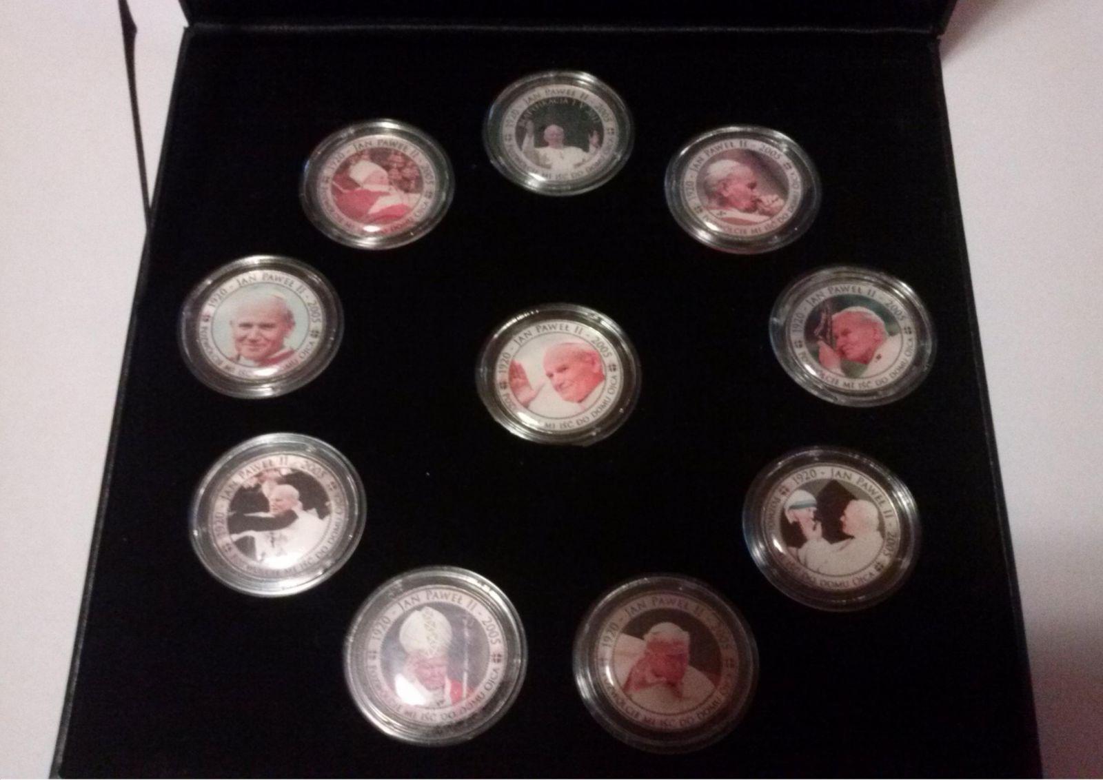 10 monete da 20 zloty commemorative beatificazione Giovanni Paolo II
