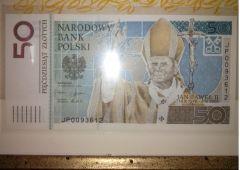 Banconota 50 zloty commemorativa beatificazione Giovanni Paolo II