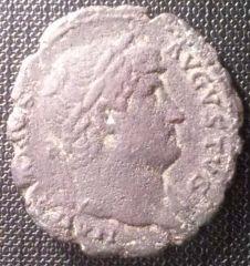 Asse di Adriano salus augusta 125-128 dc