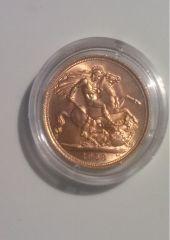 1 sterlina d'oro 1958