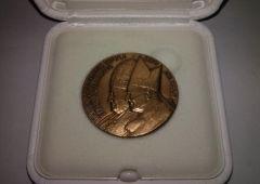 Medaglia bronzo Vaticano canonizzazione S. Giovanni Paolo II