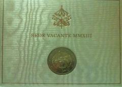 2 euro commemorativo Vaticano 2013 Sede Vacante