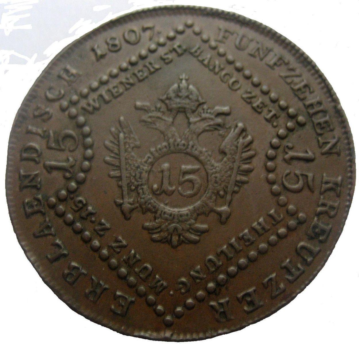 15 Kreuzer 1807 S