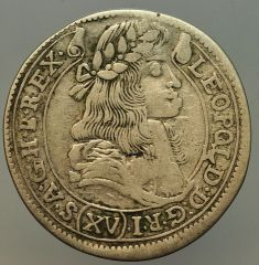 XV kreuzer 1679 Leopoldo I