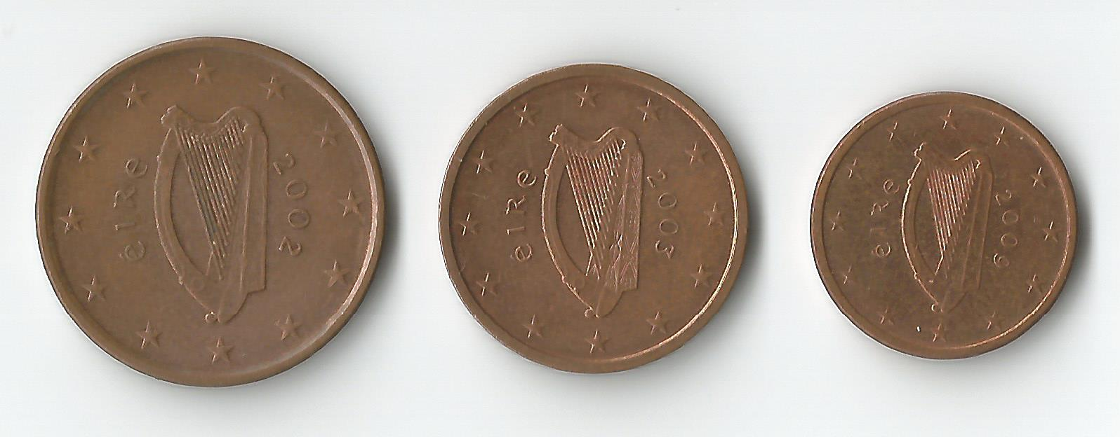 irlanda 5,2,1 cent