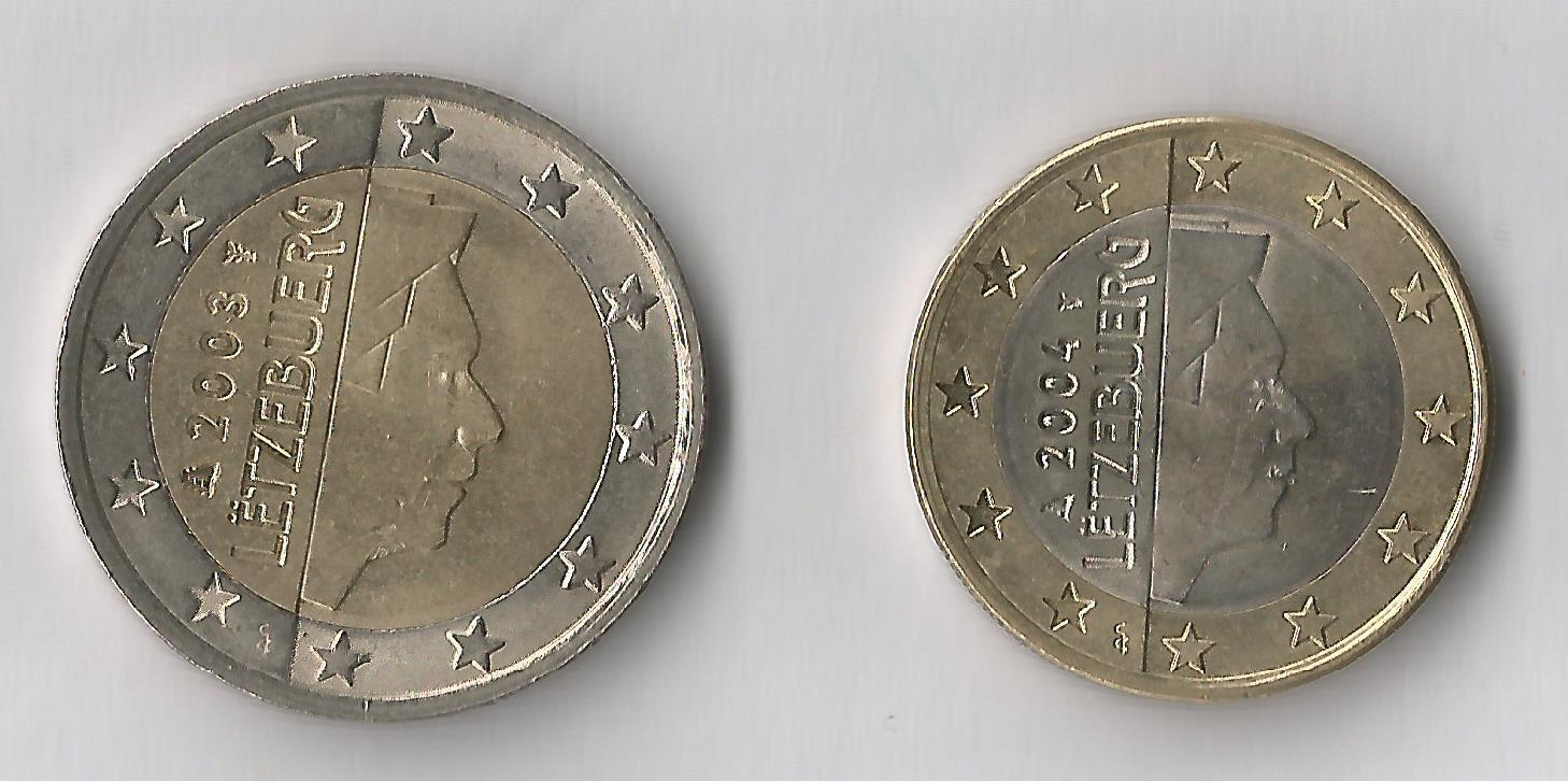 lussemburgo 2,1€