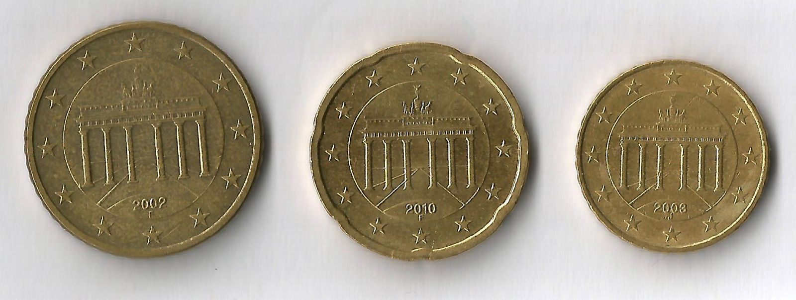 germania 50,20,10 cent