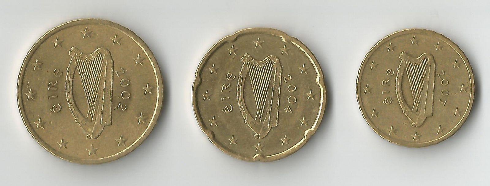 irlanda 50,20,10 cent