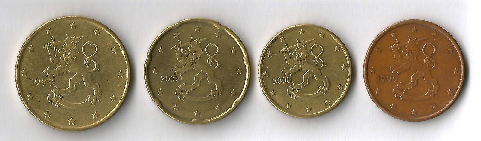 finlandia 50,20,10,5 cent