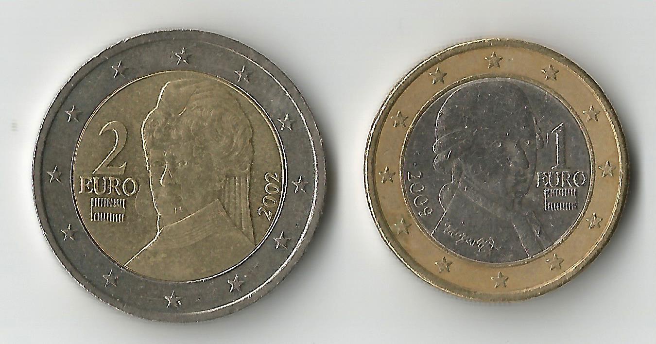 austria 2,1€