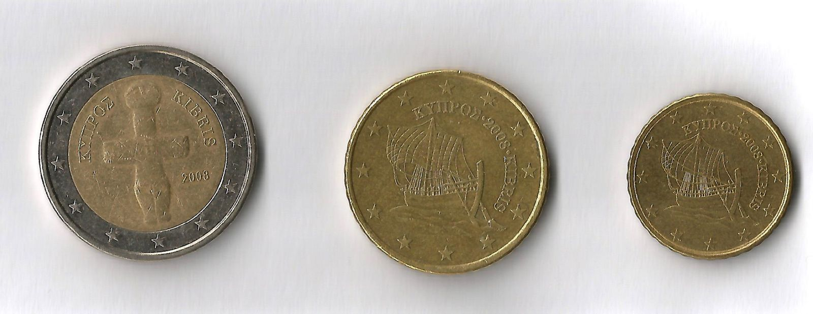 cipro 2€, 50,10 cent