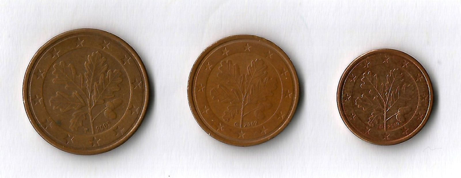 germania 5,2,1 cent