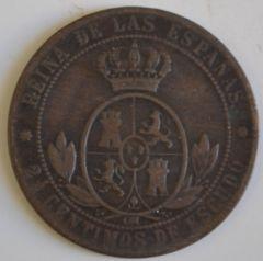 2 centesimi E mezzo 1858