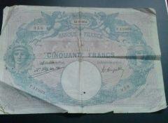 Francia 5 Franchi 1924 (Dritto)