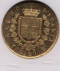 20 lire 1861