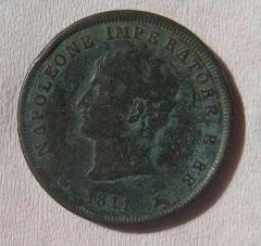 3 cent NAPOLEONE 1811