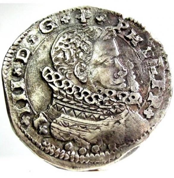 4 tari 1609 - Filippo III