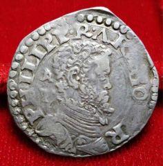 1 tari 1561/1567 - Filippo II di Spagna D/