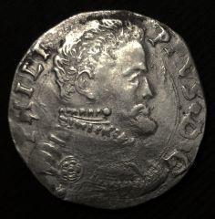 4 tari 1558 - Filippo II di Spagna D/