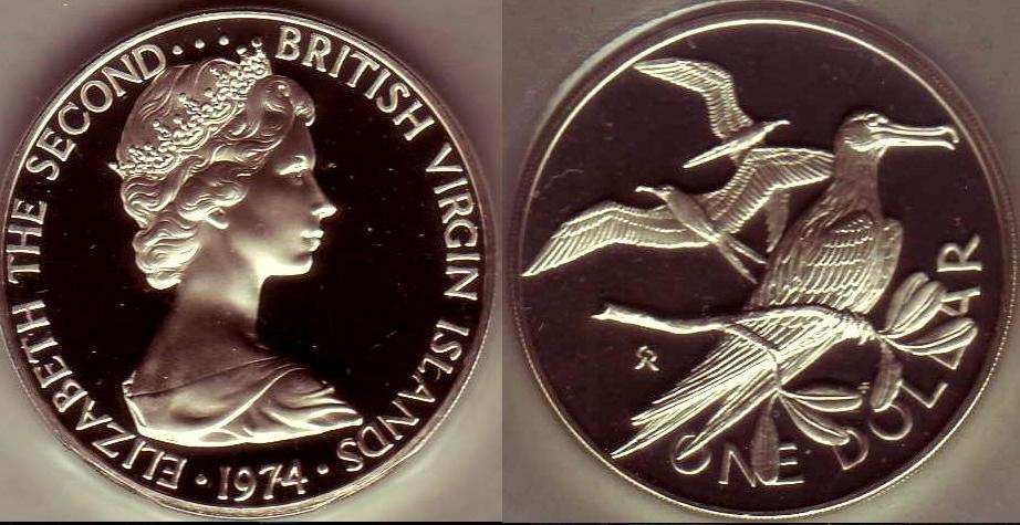British Virgin islands 1974