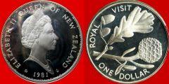 New Zealand Dollar 1981