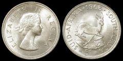 Sudafrica 5 Scellini 1953
