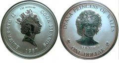 Cook islands Dollaro 1997