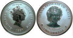 Cook islands Dollaro 1997