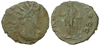 Tetrico I, R/ LAETITIA AVGG (Braithwell hoard)