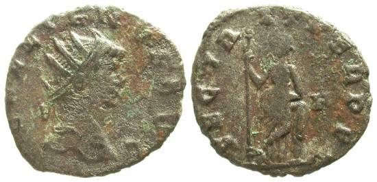 Gallienus (253-268 d.C.), R/ SECVURIT PERPET (ex Braithwell hoard)