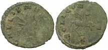 Gallieno, R/ SOLI CONS AVG, ex Braithwell hoard (1 moneta presente nell'hoard)