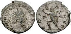 Postumus, Treveri mint (268 d.C.), R/ ORIENS AVG, (Braithwell hoard)