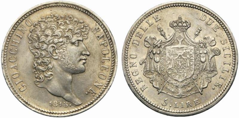 Risultati immagini per 5 lire 1813 fdc