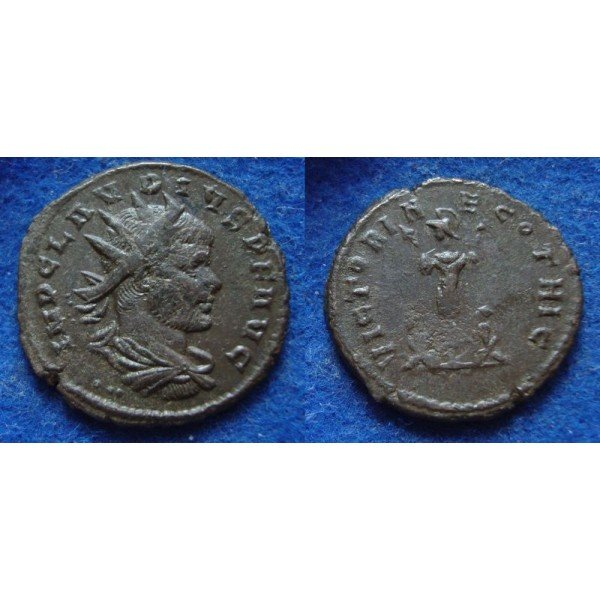 Claudius II - Victory over the Goths (AP1926) - Pax avg ...